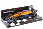 McLaren MCL35 Renault Formula 1 2020 Carlos Sainz - Minichamps Escala 1:43 (537204355)