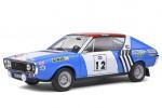 RENAULT R17 Gordini Ganador Rally Press-on-Regardless 1974 Therier / Delferier - Solido Escala 1:18 (S1803703)