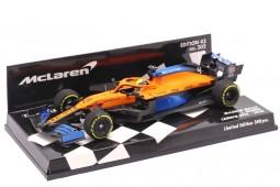 McLaren MCL35 Formula 1 2020 Lando Norris - Minichamps Escala 1:43 (537204304)