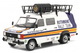 FORD Transit MK II Van Rally Assistance Rothmans 1979 - Ixo Scale 1:18 (18RMC057XE) -