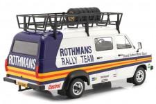 FORD Transit MK II Van Rally Assistance Rothmans 1979 - Ixo Escala 1:18 (18RMC057XE) -
