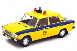 LADA Fiat 2106 USSR Police 1976 - Triple 9 Escala 1:18 (T9-1800246)