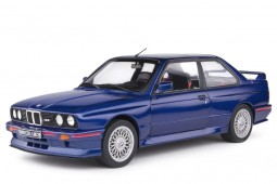 BMW M3 (E30) Coupe 1990 Mauritius Blue - Solido Scale 1:18 (S1801509)