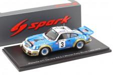 PORSCHE 911 Ganador Rally MonteCarlo 1978 Nicolas / Laverne - Spark Escala 1:43 (s6639)