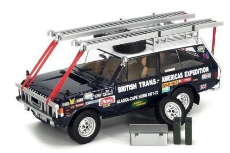 Land Rover RANGE ROVER Targa 765K British Trans Americas 1971-72 - Almost Real Escala 1:18 (ALM810109)