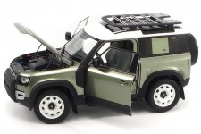 LAND ROVER New Defender 90 With Roof Pack 2020 - Almost Real Escala 1:18 (ALM810704)