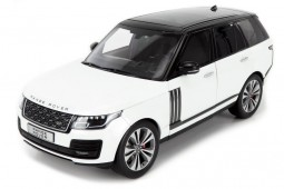 Land Rover RANGE ROVER SV Autobiography 2020 White / Black - LCD Models Escala 1:18 (LCD18001B-WH)