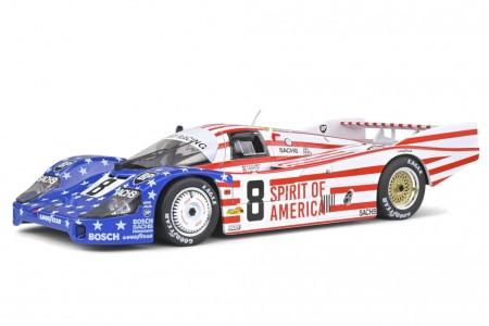 PORSCHE 956 LH 3rd 24h Le Mans 1986 Follmer / Morton / Miller - Solido Escala 1:18 (S1805503)