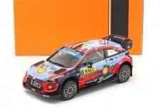 HYUNDAI i20 WRC Ganador Rally Catalunya 2019 Neuville / Gilsoul - Ixo Models Escala 1:18 (18RMC052A)