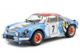 ALPINE A110 1800 3rd Rally Tour de Corse 1973 Therier / Callewaert - Ixo Models Scale 1:18 (18RMC062D)