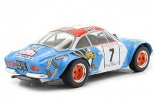 ALPINE A110 1800 3rd Rally Tour de Corse 1973 Therier / Callewaert - Ixo Models Escala 1:18 (18RMC062D)