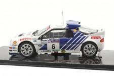 FORD RS200 5th Lombard RAC Rally 1986 Gundel / Melander - Ixo Escala 1:43 (RAC314)