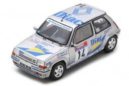 RENAULT 5 GT Turbo Tour de Corse Rally De France Ragnotti / Thimonier - Spark Escala 1:43 (s5556)