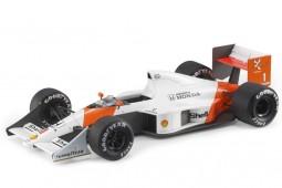 McLaren MP4/5 Honda 1989 A. Senna - Con Vitrina - GP Replicas Escala 1:18 (GP62A)