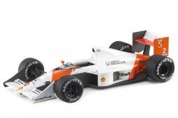 McLaren MP4/5 Honda 1989 Campeon Mundo F1 A. Prost - Con Vitrina - GP Replicas Escala 1:18 (GP62B)