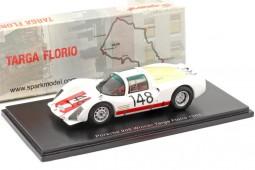 PORSCHE 906 Ganador Targa Florio 1966 Mairesse / Muller - Spark Escala 1:43 (43TF66)