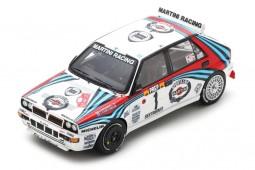 LANCIA Delta HF Integrale 3rd Rally Montecarlo 1992 Kankkunen / Piironen - Spark Scale 1:43 (s9014)