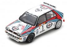 LANCIA Delta HF Integrale 3rd Rally Montecarlo 1992 Kankkunen / Piironen - Spark Escala 1:43 (s9014)