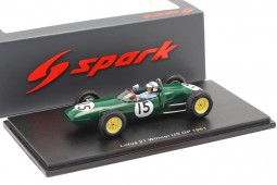 LOTUS 21 Winner GP F1 USA 1961 Innes Ireland - Spark Scale 1:43 (s7136)