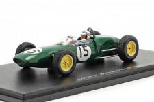 LOTUS 21 Ganador GP F1 USA 1961 Innes Ireland - Spark Escala 1:43 (s7136)