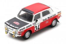 SIMCA 1000 Rallye 2 Monte Carlo 1973 Fiorentino / Gelin - Spark Scale 1:43 (s9457)