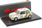 RENAULT 5 GT Turbo Rally Monte Carlo 1989 Oreille / Thimonier - Spark Escala 1:43 (s5565)
