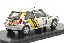 RENAULT 5 GT Turbo Rally Monte Carlo 1989 Oreille / Thimonier - Spark Scale 1:43 (s5565)