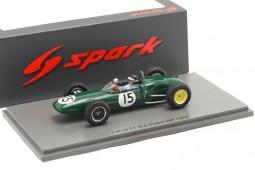 LOTUS 21 3rd Dutch GP Formula 1 1961 Jim Clark - Spark Escala 1:43 (s7118)