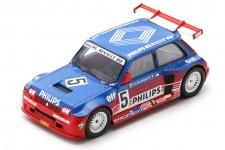RENAULT 5 Maxi Turbo Superproduction 1987 Jean-Louis Bousquet - Spark Scale 1:43 (SF054)