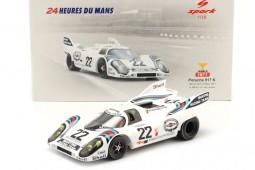 PORSCHE 917K Ganador 24h LeMans 1971 H. Marko / G. Van Lennep - Spark Escala 1:18 (18LM71)