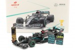 MERCEDES-AMG W11 F1 World Champion GP Turkey 2020 L. Hamilton - Spark Scale 1:18 (18s567)