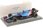 ALPINE Renault A521 GP Formula 1 Bahrain 2021 Fernando Alonso - Spark Scale 1:43 (s7664)