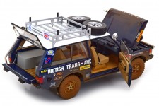 RANGE ROVER British Trans-Americas Expedition 1971-72 Dirty Version - Almost Real Scale 1:18 (ALM810113)