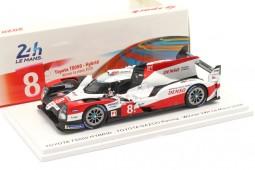 TOYOTA TS050 Ganador 24h LeMans 2020 Buemi / Hartley / Nakajima - Spark Escala 1:43 (43LM20)