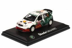 SKODA Fabia WRC EVO II - nº12 Rallye Japón 2005 - Mikko Hirvonen