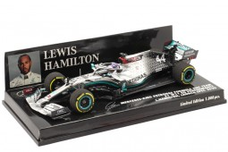 MERCEDES-AMG W11 Campeon del Mundo F1 2020 L. Hamilton - Minichamps Escala 1:43 (410200044)