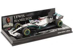 MERCEDES-AMG W11 World Champion F1 2020 L. Hamilton - Minichamps Scale 1:43 (410200044)