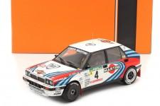 LANCIA Delta Integrale 2nd Rally Portugal 1990 D. Auriol / B. Occelli - Ixo Escala 1:18 (18RMC064B)