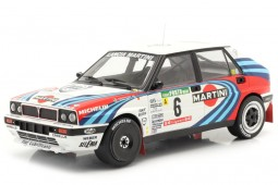 LANCIA Delta Integrale 16V 3rd Rally Portugal 1990 J. Kankkunen / J. Piironen - Ixo Escala 1:18 (18RMC064C)