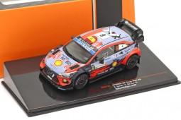 HYUNDAI i20 Coupe WRC Winner Rally Sardinia 2020 D. Sordo / C. Del Barrio - Ixo Scale 1:43 (RAM763)