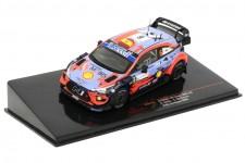 HYUNDAI i20 Coupe WRC Ganador Rally Sardinia 2020 D. Sordo / C. Del Barrio - Ixo Escala 1:43 (RAM763)