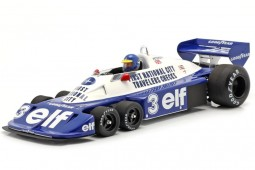 TYRRELL P34 GP F1 Brazil 1977 Ronnie Peterson - Spark Scale 1:18 (18s472)