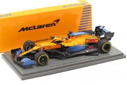McLaren MCL35 Renault 2nd GP Monza 2020 Carlos Sainz - Spark Escala 1:43 (s6481)