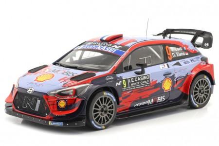 HYUNDAI i20 WRC Rally Monte Carlo 2020 S. Loeb / D. Elena - Ixo Escala 1:18 (18RMC067B)