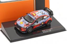 HYUNDAI i20 Coupe WRC 3rd Rally Monza 2020 D. Sordo / C. Del Barrio - Ixo Scale 1:43 (RAM770)