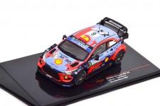 HYUNDAI i20 Coupe WRC 3rd Rally Monza 2020 D. Sordo / C. Del Barrio - Ixo Escala 1:43 (RAM770)