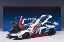LAMBORGHINI Aventador Liberty Walk Martini 2018 - AutoArt Escala 1:18 (79185)