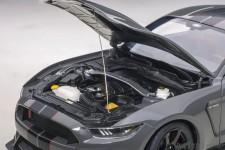 Ford Shleby GT-350R 2017 Dark Grey - AutoArt Escala 1:18 (72930)