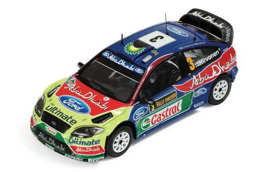 Ford focus wrc n 3 m hirvonen j lehtinenwinner rally for Cascos motogp altaya
