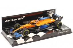McLaren MCL35 2nd GP F1 Italia 2020 Carlos Sainz - Minichamps Scale 1:43 (537205155)